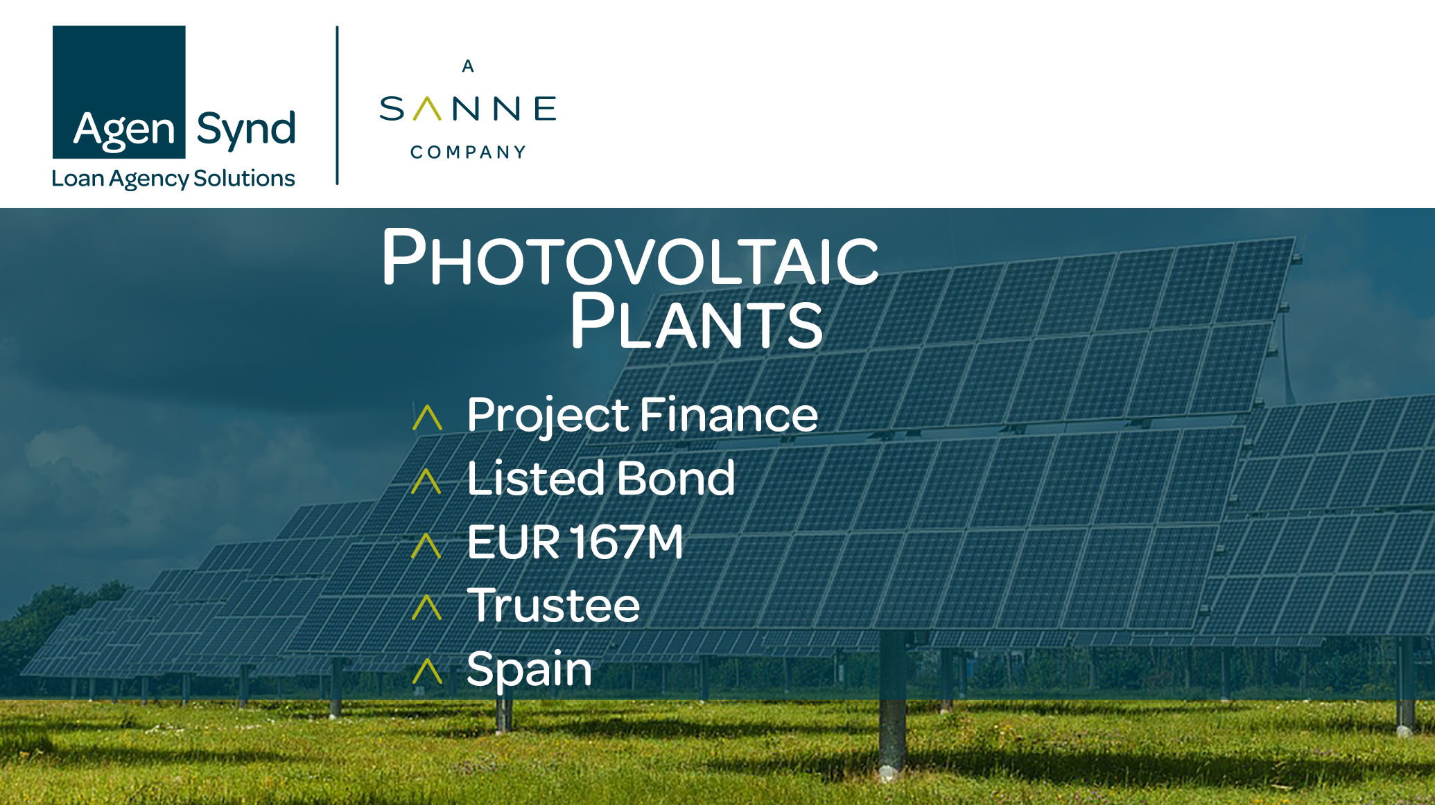 AgenSynd Photovoltaic Plants